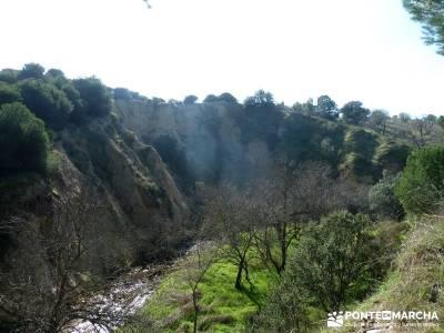 Cañón Río Aulencia-Embalse Valmenor; pueblos cerca de madrid ruta madrid tejos ropa senderismo